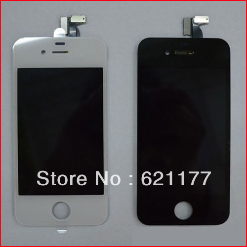 10 Pieces/Lot New OEM Touch Screen Digitizer LCD Display Assembly for iPhone 4(4S) Repair Part Replacement Glass Panel factory