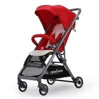5,7 кг легкая коляска Carrinho de Bebe детская коляска красивый пейзаж для детей коляска детская коляска Poussette Bebek Arabasi