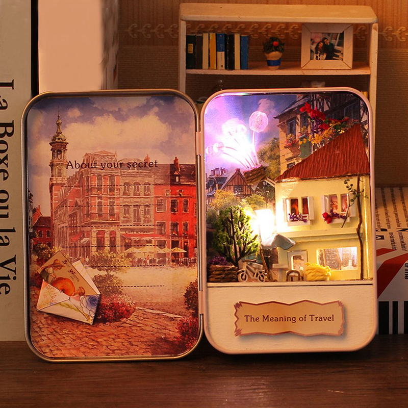 significado de los viajes estilo diy mini casa de muecas de juguete de madera d diseo