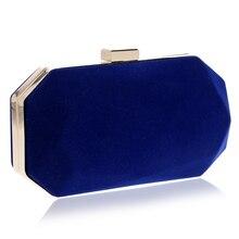 Einfaches Design Kleine Tag Clutches handtasche Abendtaschen Mischfarbe Kette Schulter Messenger Bags Für Hochzeit Partei Geldbörsen