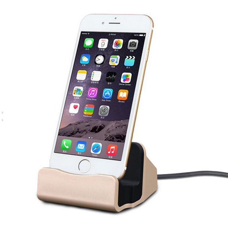 Cellphones & Telecommunications For Iphone X 8 7 6s 6 Plus Phone Desk Holder Charger Mobile Stand For I Phone 5 5s Se Charging Dock Desk Charger Docking Station To Rank First Among Similar Products