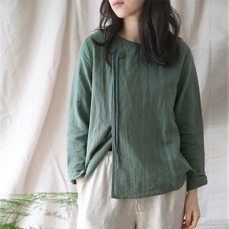 Stop118 SCUWLINEN Color Long-sleeve