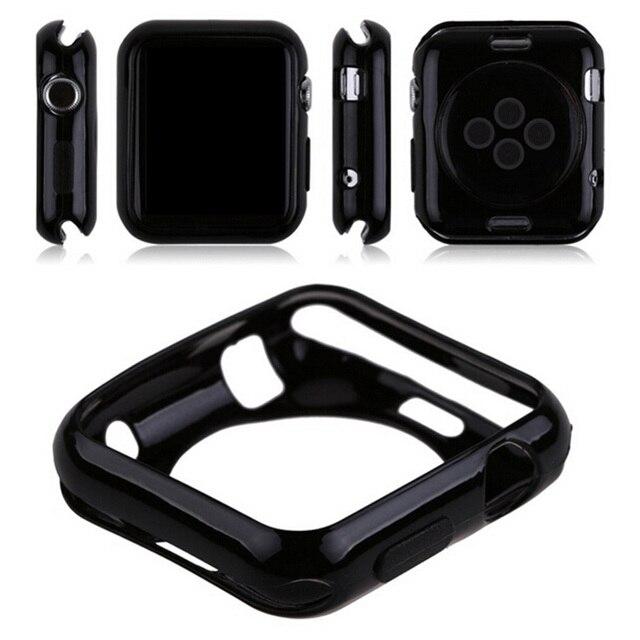c3dd472f6cb Gosear Ultrathin Silicone TPU Protector Case Cover Skin Shell for Apple  Watch iWatch i Wach iWach