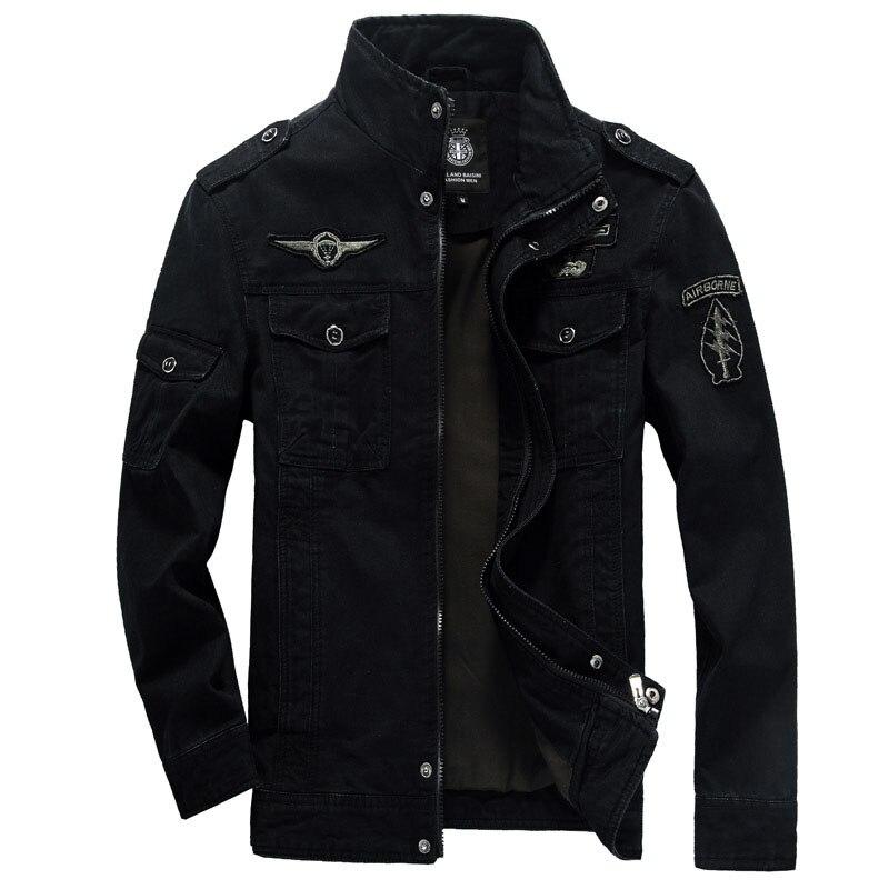 HTB11r4phCzqK1RjSZFpq6ykSXXaP Winter Cargo Plus Size M-XXXL 5XL 6XL Casual Man Jackets Army Clothes Brand 2018 Mens Green Khaki 3 Colors Military Jacket