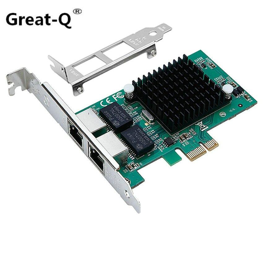 Pci express gigabit Ethernet Server network card pcie gigabit RJ45 rj 45 network card Diskless boot intel82575 chip