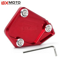 Motorcycle CNC Aluminum CNC Side Stand Enlarge For BMW R 1200 GS 2008 2012 R 1200
