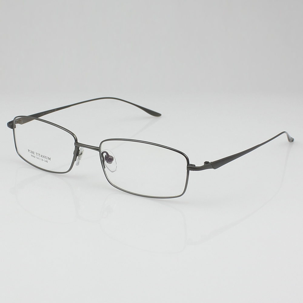 titanium eyewear 7x7p  New Light Pure Titanium Eyeglasses frame RX Eyewear Men's Full Rim Glasses  Prescription Spectacle 9068