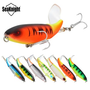 SeaKnight Topwater Fishing Lure 13g/90mm 19g/110mm 39g/130mm 5PCS/Lot Fishing Lure Hard Bait Sharp Hooks Bass Jig Sea Fishing