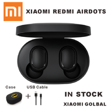 Presale Xiaomi Redmi Airdots TWS Bluetooth Earphone Stereo bass BT 5.0 Eeadphones With Mic Handsfree Earbuds AI Control(China)