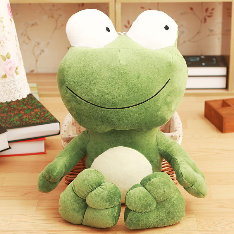 Very Nice Soft 28 Inch Large Big Frog Stuffed Animals Plush Soft Toys Doll Pillow Fancy Gifts