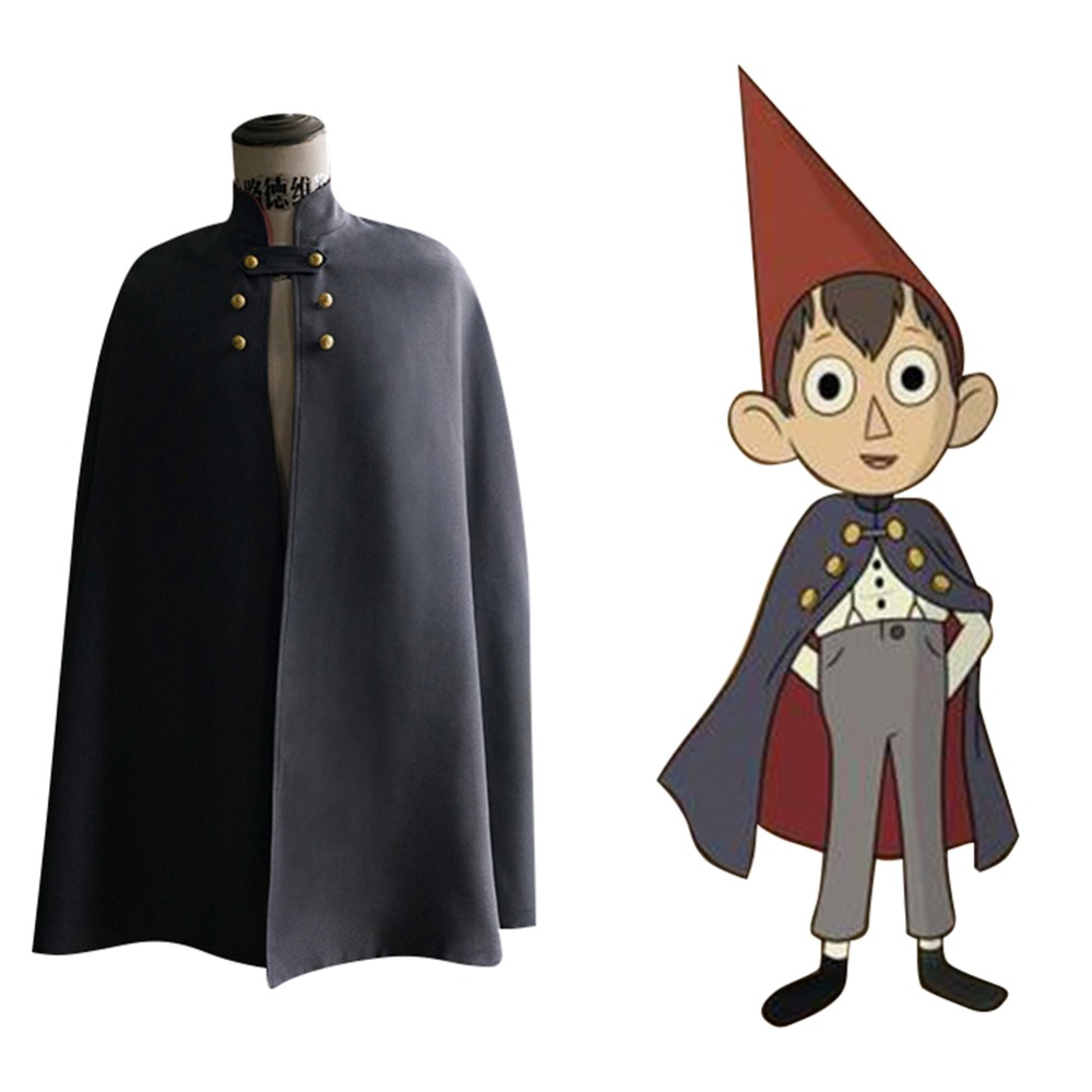 Over the Garden Wall Wirt Coat Cloak Cosplay Costume with Hat