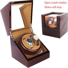 Высококлассный мотор шейкер часы Winder держатель дисплей автоматические механические часы коробка с подзаводом ювелирные изделия Часы Winder Box