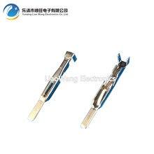 все цены на 100 PCS DJ611A-A2.8B Automotive Connector Copper Terminal Tin Plated 2.8 Series Pin Insert онлайн