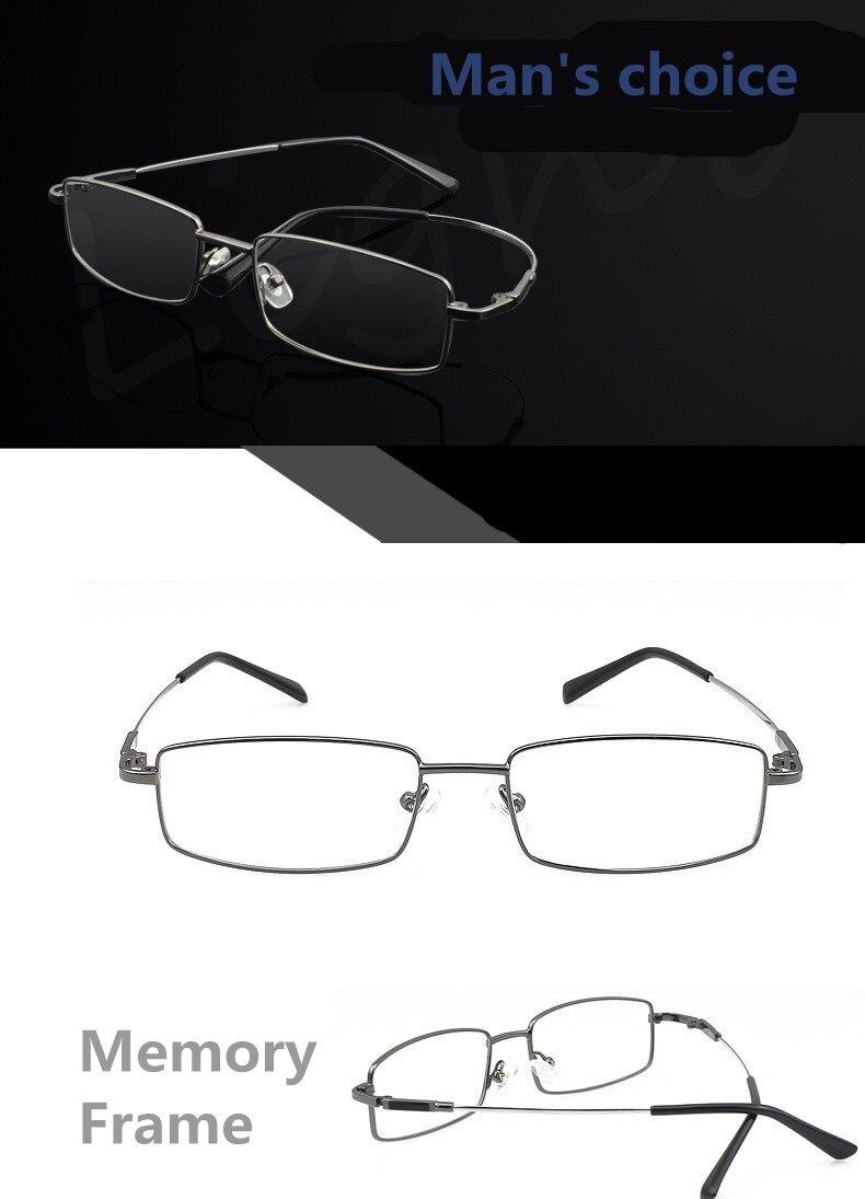 Mode Speicher Titan Brille Männer Frauen Spektakel Brillen Rahmen ...