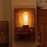 Wrought Iron Industrial Wall Sconce Edison Wandlamp Retro Vintage Wall Lamp LED Style Loft Appliques Murale Lampen