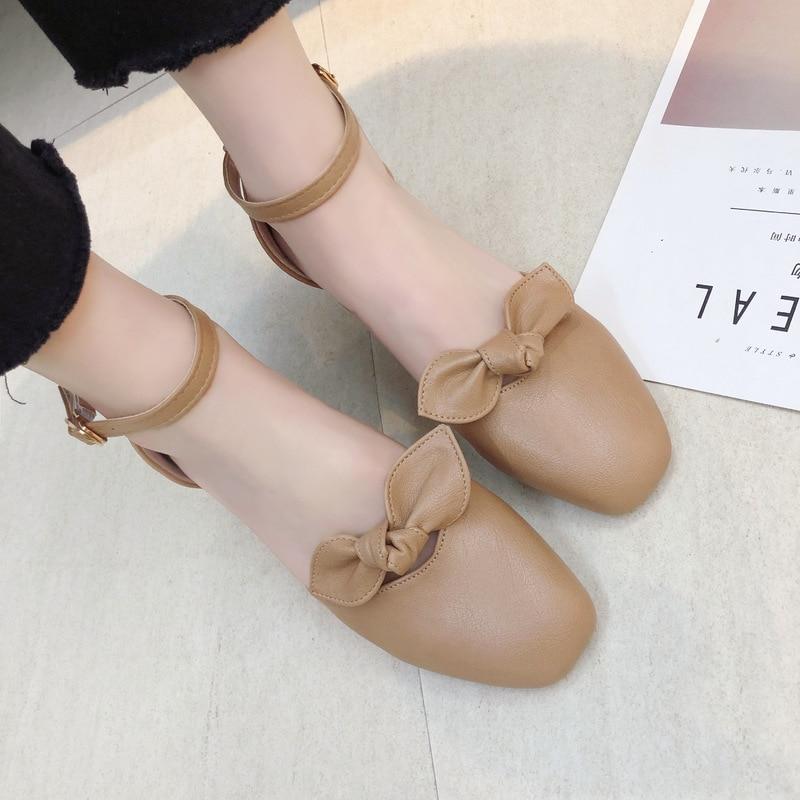 9d4c828a8b1e6f Décoratives Simple Couleur 2019 kaki Confortable Solide Nouvelle Femmes  Sauvage Chaussures Décontractées Arc Printemps Beige Mode QdtrCshx