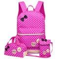 Модные школьные сумки для девочек  детские школьные рюкзаки  3 шт./компл.  рюкзак для девочек  детские школьные сумки с принтом  ортопедически...