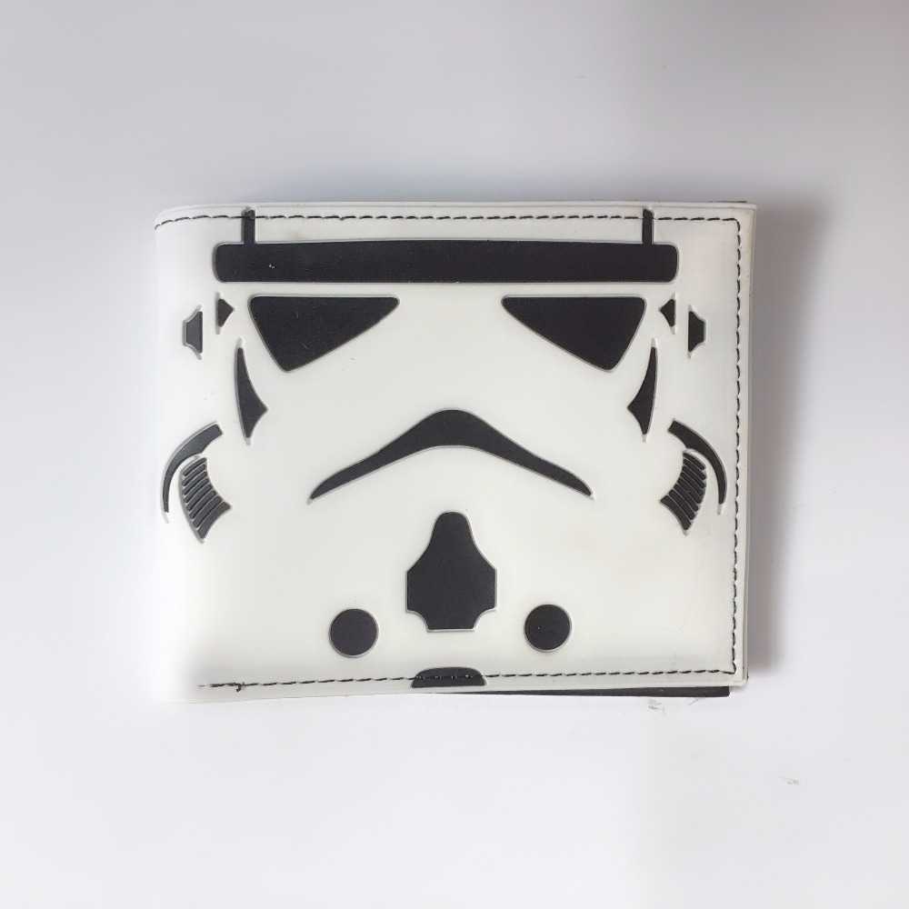 Star Wars Galactic Empire Double Fold Wallet Star Wars White Short Wallet Earth Man pocketbook XY0068 недорго, оригинальная цена