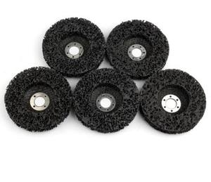 Image 2 - 5pcs Abrasive Tools 115mm Poly Strip Wheels Paint Rust Removal Clean Angle Grinder Discs