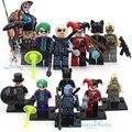 DC Бэтмен Джокер Врагов и Deathstroke Блоки Харли Квинн, Женщина-Кошка, Пингвин, BaneToys Подарок Для Детей