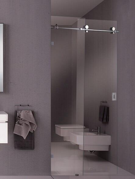 Popular Glass Frameless Shower Doors-Buy Cheap Glass Frameless ...