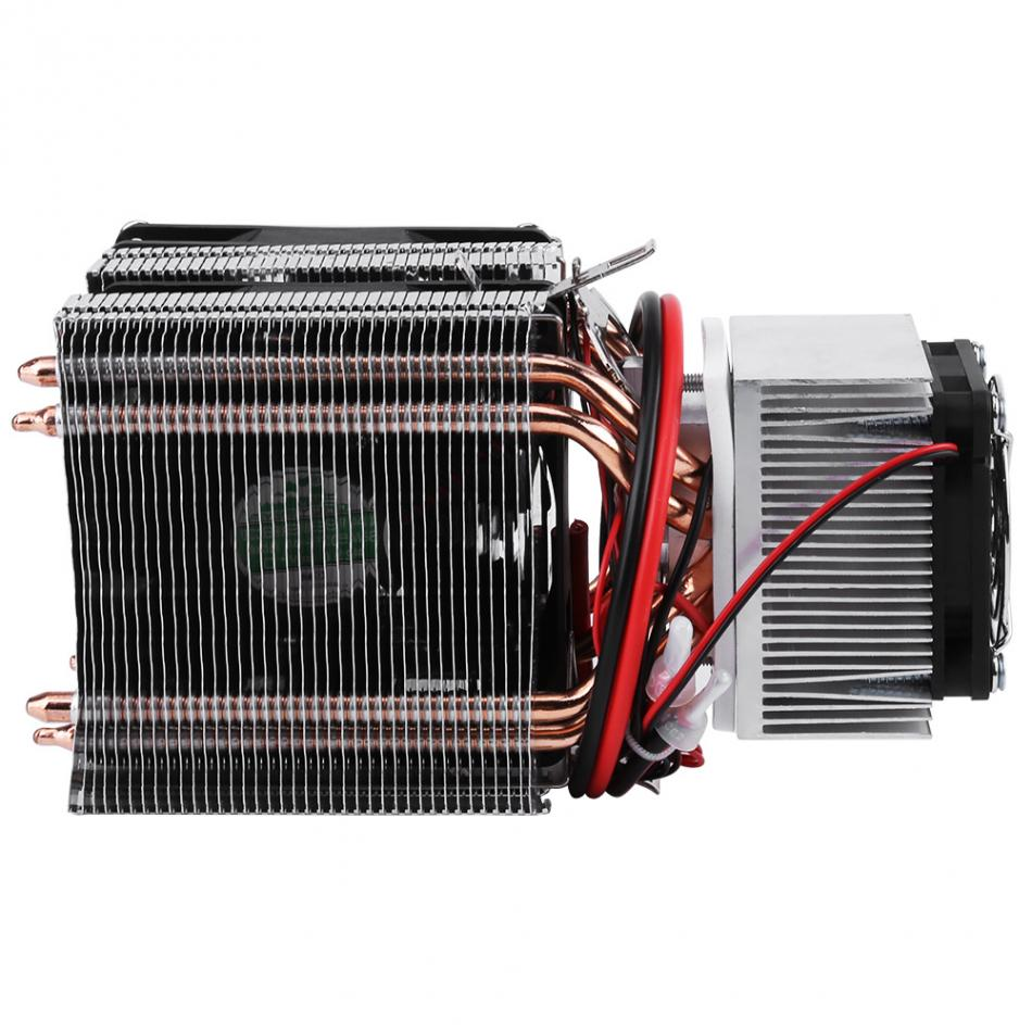 DC 12V Peltier Refrigeration Cooling Air Cooling Radiator DIY Fridge Cooler System 20A 180W Semiconductor Mini