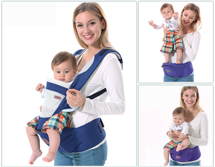Breathable-baby-carrier-sling-with-cotton-hoody-toddler-kangaroo-backpack-carrier-hipseat-baby-care-Activity-Gear