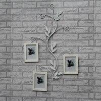 Рама из кованого железа из твердой древесины 7 дюймов фоторамка для творчества фото украшение стены