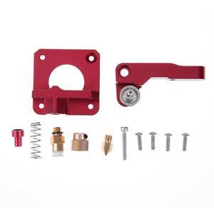 Image 1 - 3D Printer Parts MK8 Extruder Aluminum Alloy Block Extruder Set 1.75mm Filament for Creality 3D CR 7 CR 8 CR 10