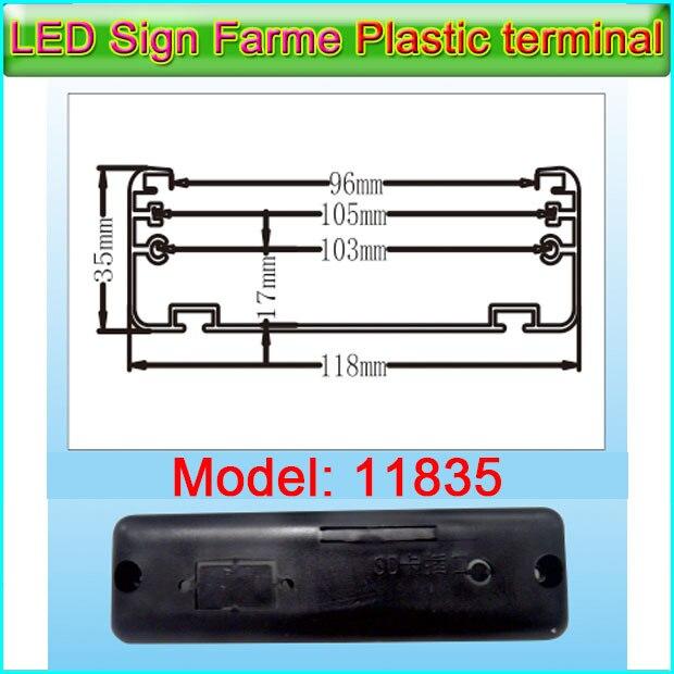 Gicl11835 Framework Plastic terminal P3/P6 LED Display Frame ...