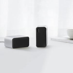 Image 5 - Orijinal Xiaomi Bluetooth bilgisayar hoparlör taşınabilir çift bas Stereo kablosuz hoparlör Bluetooth4.2 desteği sesli arama