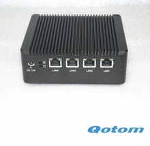 Firewall Micro Appliance With 4x Gbe Lan Ports for PFSense Multi-function router Linux pc