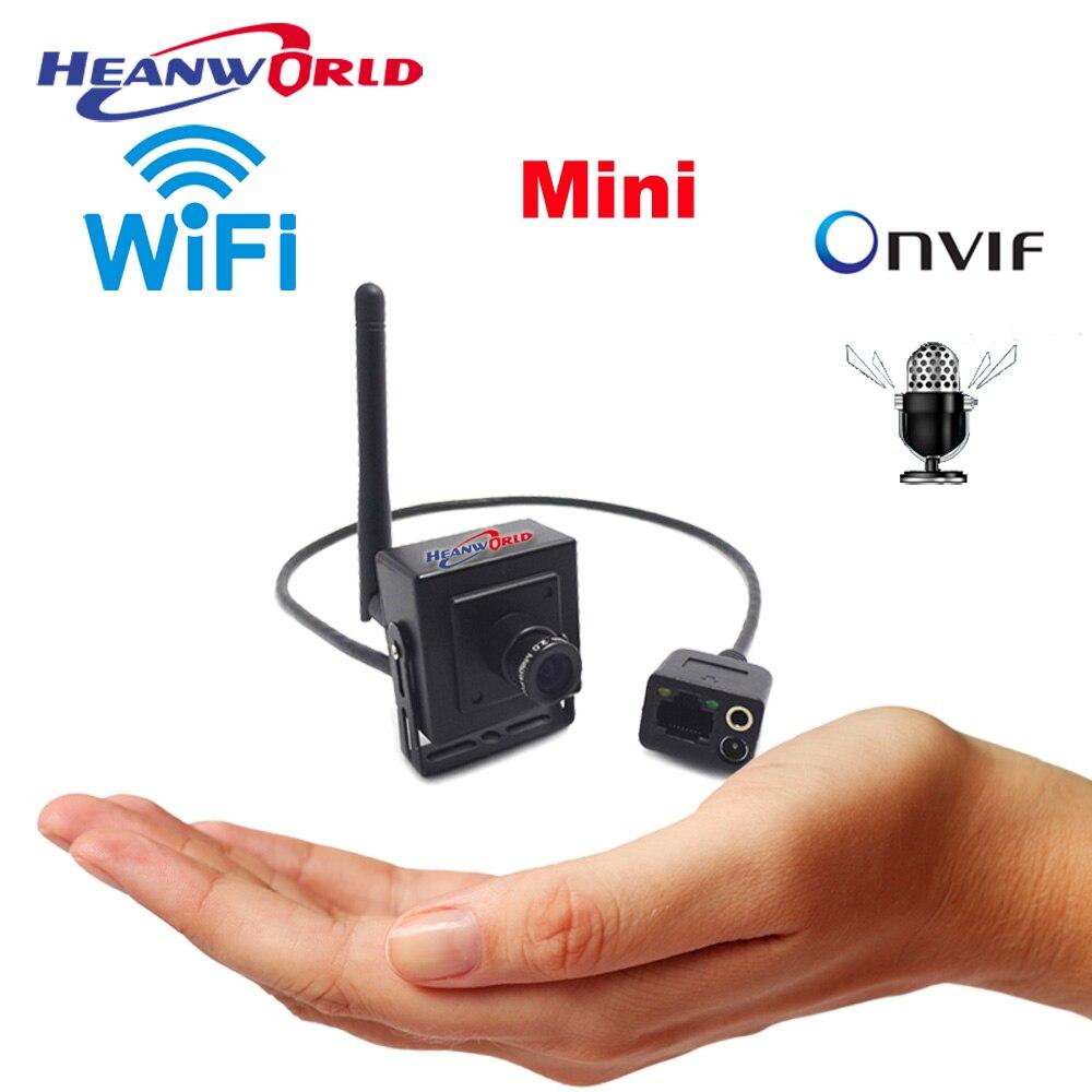 bilder für CCTV IP Mini Kamera Wifi HD kleinste drahtlose überwachungs webcam home security cam 720 P unterstützung audio onvif Android Fern