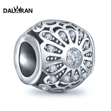 DALARAN 925 sterling silver beads charm popular boutique wild European bracelet necklace jewelry accessories