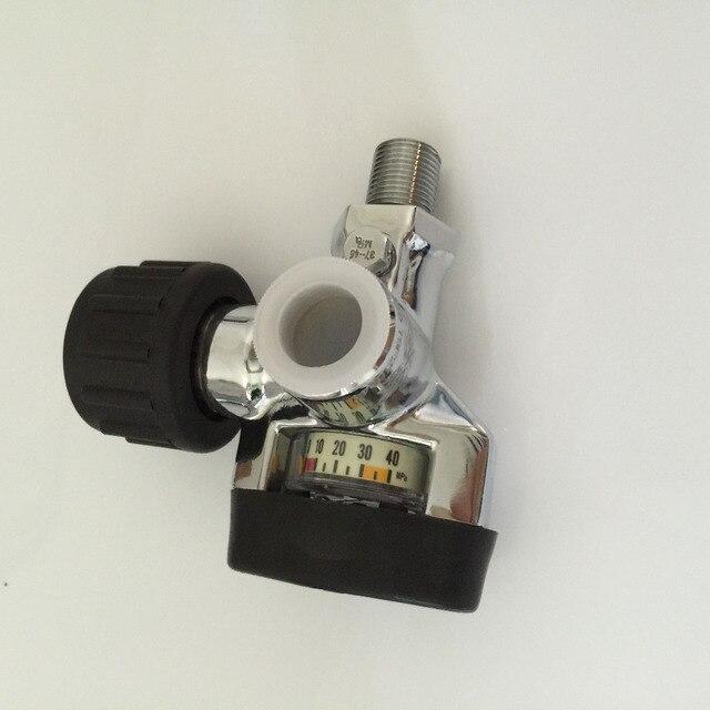 hot sale carbon dioxide cylinder valve /compressed air valve/stainless steel carbon dioxide gas cylinder valve-A