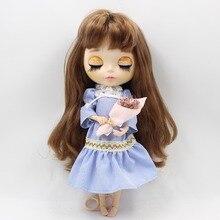 Neo Blythe Doll Stripe Lace Dress