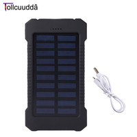 Tollcuudda 10000mAH Portable Power Bank LED Lighting Mobile Phone External Battery Pack Charger Fast Charging