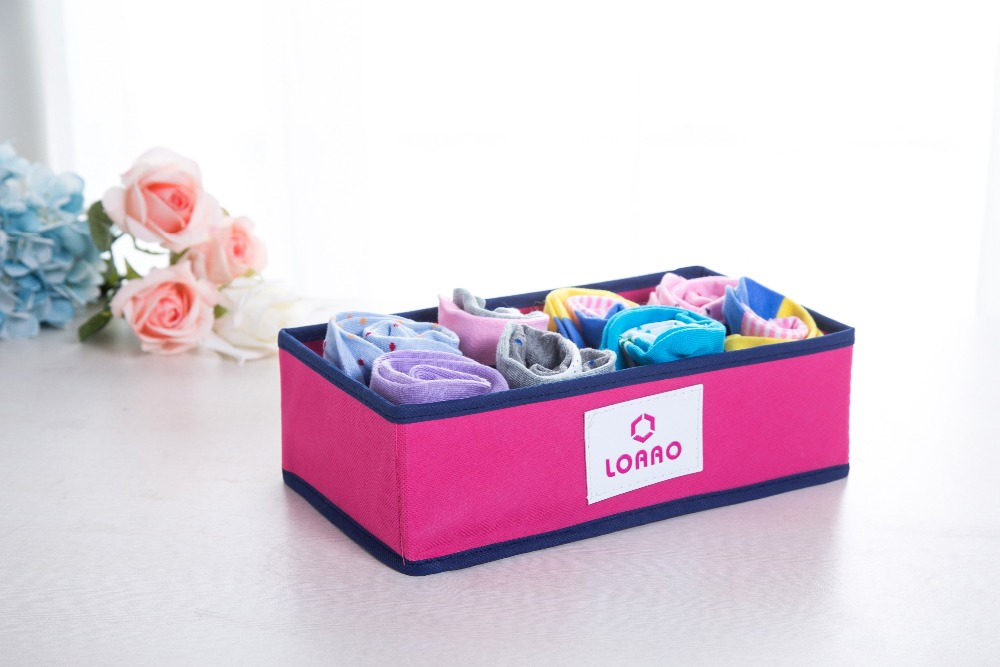loaao новый горячий дом коробка для хранения организатор коробки ящики складные носки мода коробка хранения организатор сумки