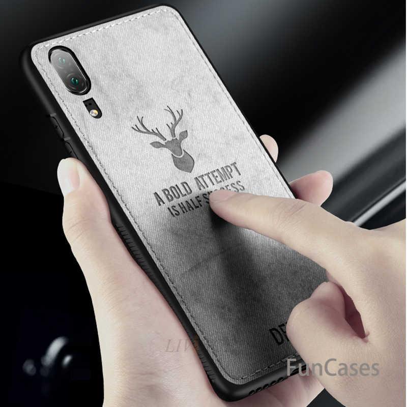 Олень ткань кожаный чехол для телефона для oppo find x K1 R15X A1 A83 A79 R17 A33 R9 R9S плюс R11 R11S R15 PRO tpu чехол etui