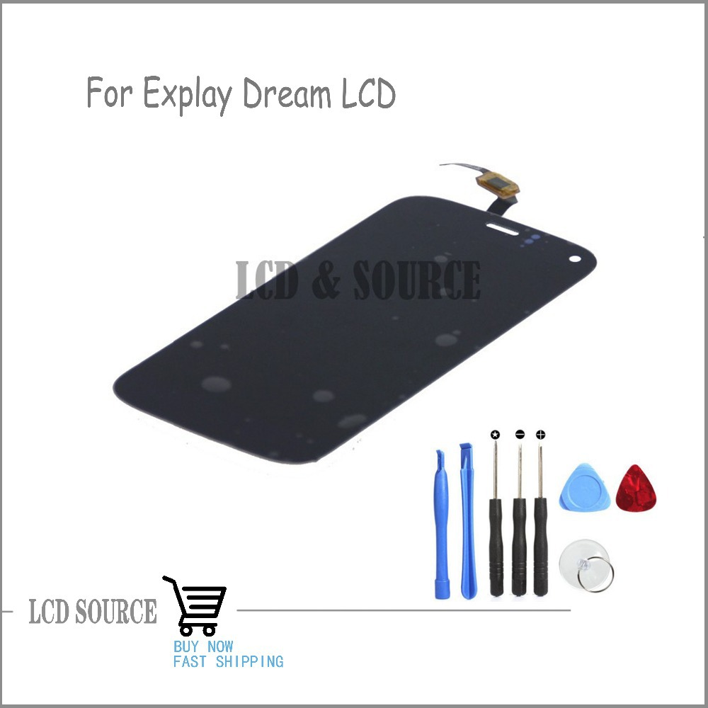 Black Original For Explay Dream LCD Display+Touch Screen Digitizer Sensors Assembly Replacement With Tools explay для смартфона explay craft
