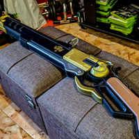 [Lustige] 100cm OW Spiel Ashe Waffe pistole modell spielzeug Die Viper Cosplay Replik Rifle Prop Kind erwachsene kostüm party spielzeug geschenk