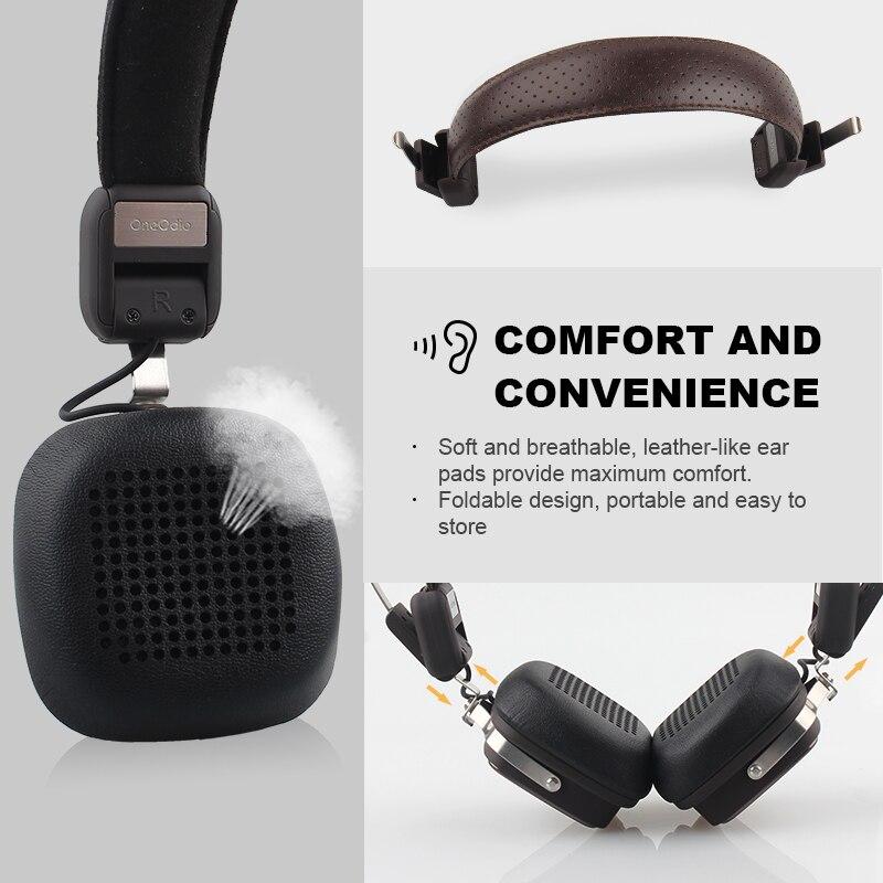 Wireless Headphone Bluetooth Headset Headphones Bluetooth 4.1 Metal Stereo Wireless Headphones With Mic For iPhone Xiaomi Phone