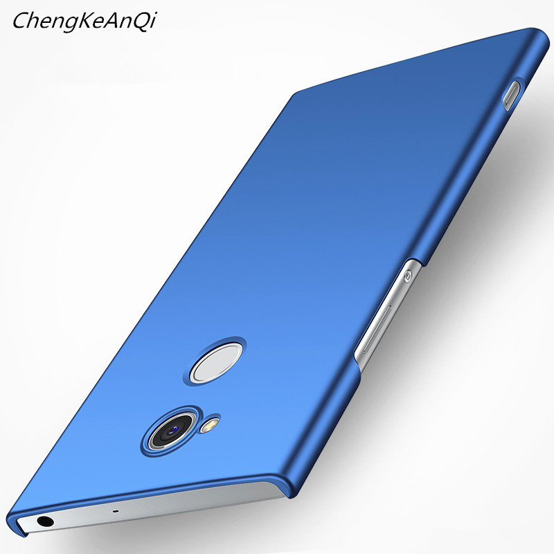 Luxury Simple Cover Protective Shockproof Phone Case For Sony Xperia XA2 Ultra Slim Hard PC Cover For Sony Xperia XA2 Ultra Case