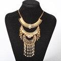 2017 novo maxi moda choker collar declaração colar & pendente mulheres gypsy vintage ethnic bohemian mulheres colar de jóias finas