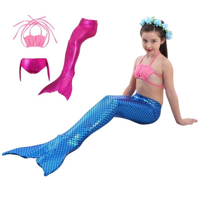 Fairy Tale Mermaid Girls Swimwear Cosplay Costume Baby Children Bikini Kids Swimsuit ( Top + Underwear  sc 1 st  AliExpress.com & Fairy Tale Mermaid Girls Swimwear Cosplay Costume Baby Children ...