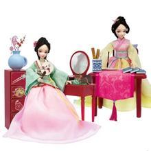 Специальная Kurhn Кукла для девочек, игрушки, традиционная китайская кукла, игрушка с аксессуарами для детей, подарок на день рождения#3078-1-2