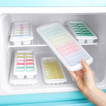 1PC White 12/48/60 Grids Ice Molds Kitchen Tools Ice Cubes Molds Freeze Bar Silicone Ice Cube Tray Mini Ice Maker Popsicle Molds 3pcs robot building block silicone ice cube tray molds