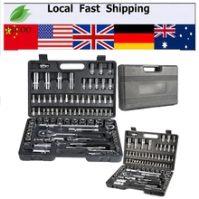 "94pcs 1/2"" 1/4"" Socket Set Screwdriver Bit Tool Ratchet Wrench Driver Kits Sets Repair Tools Car Bicycle Spanner Lever"