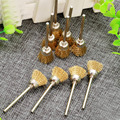 10Pcs dremel accessories Buffing polishing Tools 3mm Brass Wire Cup Brush for Polishing Buffing Grinding Dremel Rotary Tool