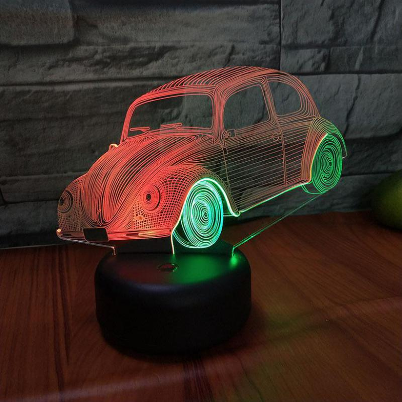 estar deco enfant chambre 3d nightlight